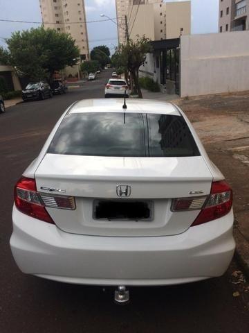 Honda Civic Lxl 2012 com entrada 6.000 + parcelas - Foto 5