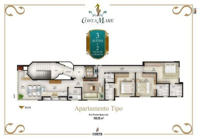 03 suites, 01 apto por andar apenas R$789.000,00