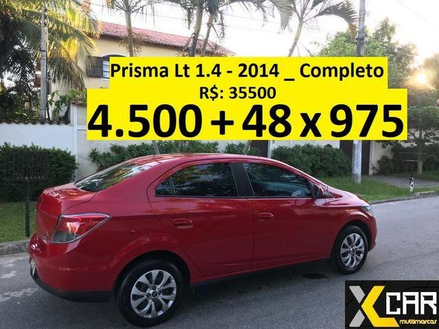 Prisma 1.4 - 2014 _ 4.500 de entrada _ Único Dono _ Completo