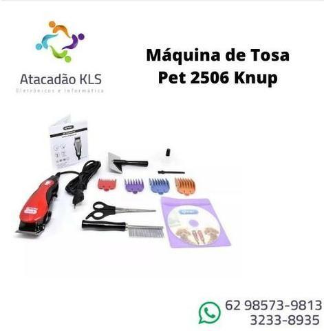 Kit Maquina De Tosa Pet Aparadora De Pelos Pet Caes E Gatos - Foto 2