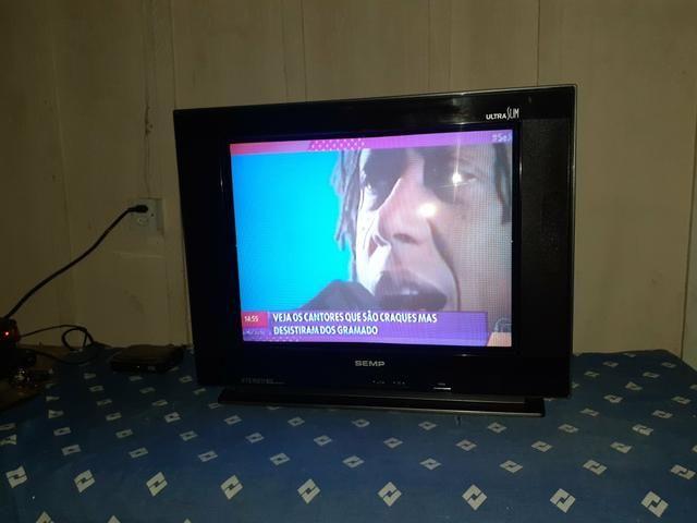 TV, C/garantia, aceitocartão, entrego - Foto 4