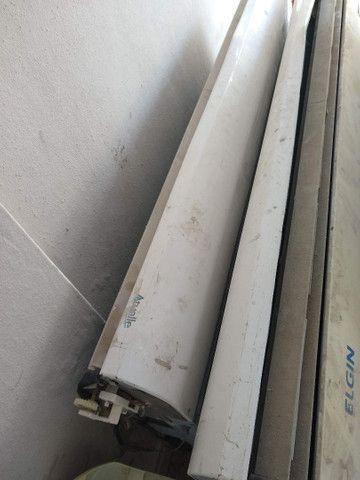 Pra desocupar lugar!Vendo somente evaporadora completa da ELGIN 80 mil BTUs.(220 v) - Foto 4