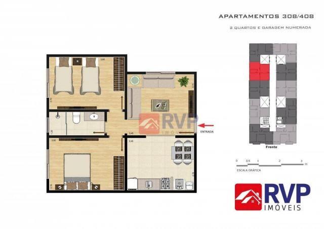 Apartamento com 2 dormitórios à venda por R$ 189.000,00 - Recanto da Mata - Juiz de Fora/M - Foto 19