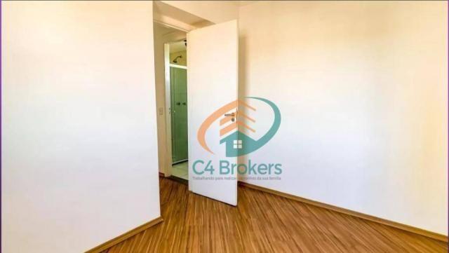Apartamento com 2 dormitórios para alugar, 45 m² por R$ 1.547,00/mês - Ponte Grande - Guar - Foto 7