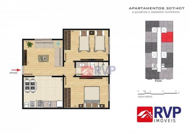 Apartamento com 2 dormitórios à venda por R$ 189.000,00 - Recanto da Mata - Juiz de Fora/M - Foto 18