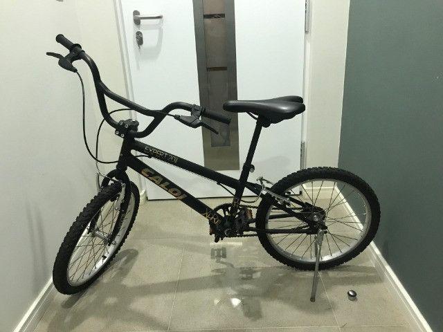 Bicicleta Aro 20 Caloi Expert - Preto Fosco