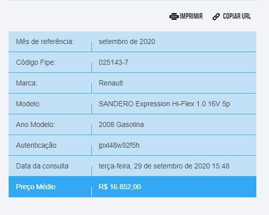 Sandero Expression Hi-Flex - Foto 7