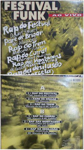 10 Lps Funk Rap Nacional - Foto 5
