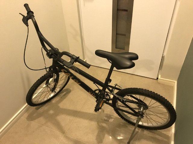 Bicicleta Aro 20 Caloi Expert - Preto Fosco - Foto 2