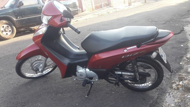 Biz 125cc Ex Total Flex full injection, Vermelha, 2014 com partida elétrica - Foto 5