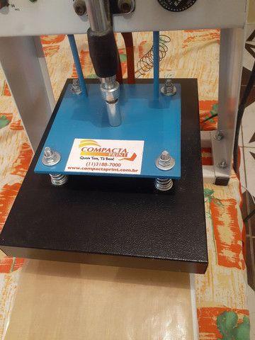 Máquina de estampar camiseta da compacta print  - Foto 5