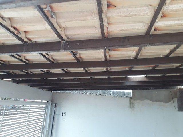 Telhado colonial com estrutura de metalon - Foto 3