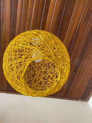 Luminária estilo bola - Foto 6