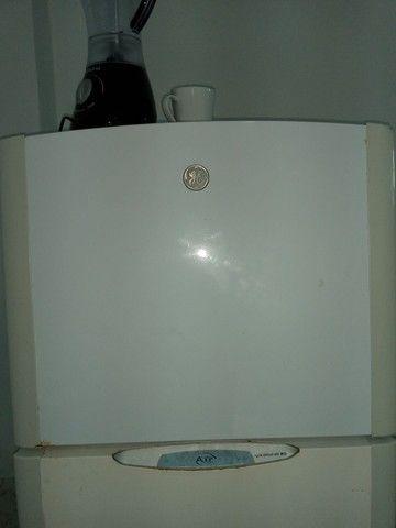 Vendo fogão automático +geladeira + cama box 700 - Foto 5