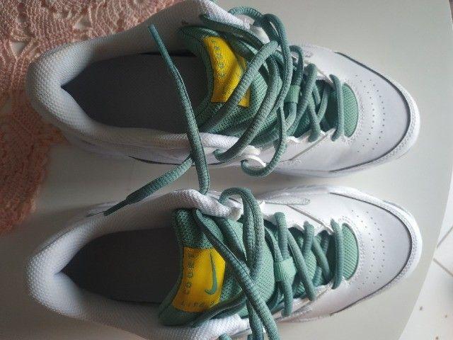 Tenis Nike Lite Court 2 Feminino Tamanho 36/37 - Foto 6