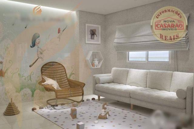Apartamento com 2 dormitórios à venda, 93 m² por R$ 465.000 - Aviação - Praia Grande/SP - Foto 11