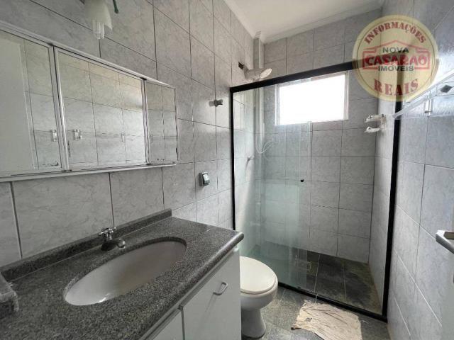 Apartamento com 2 dormitórios à venda, 72 m² por R$ 330.000 - Guilhermina - Praia Grande/S - Foto 11