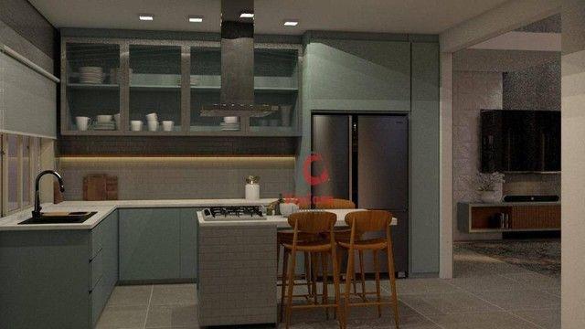 Casa com 4 Quartos Sendo 3 Suítes à venda, 220 m² por R$ 890.000 - Extensão do Bosque - Ri - Foto 5