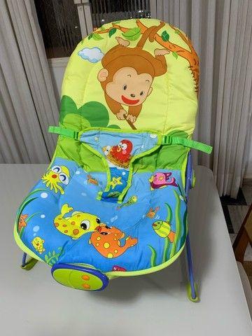 Cadeira de Descanso Baby Style Lite Aqua - 0 a 11kg - Foto 5