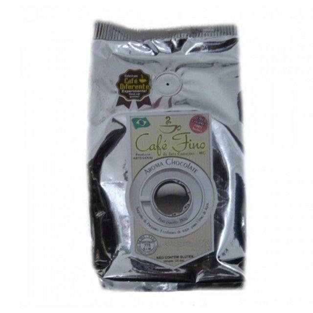 Café 100% Arábica Gourmet Moído com Aroma de Chocolate - 250g