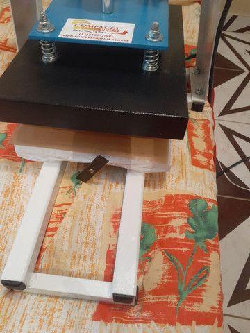 Máquina de estampar camiseta da compacta print  - Foto 2