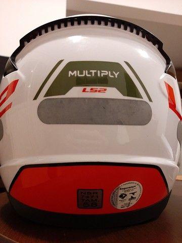 Capacete LS2 Rapid Multiply - Foto 4