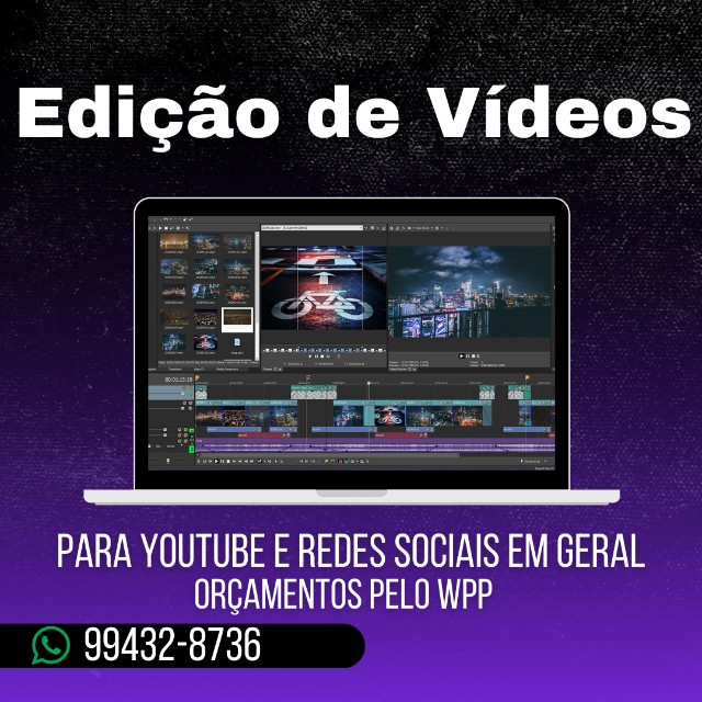Contrate um Editor de Vídeo