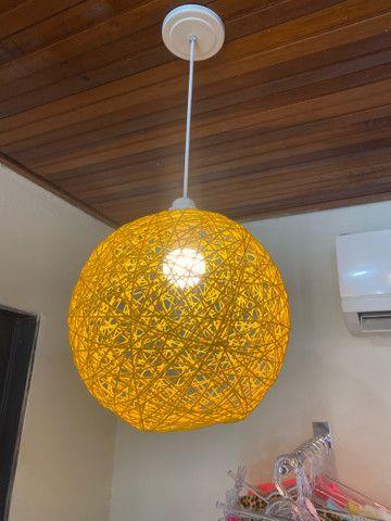 Luminária estilo bola - Foto 2