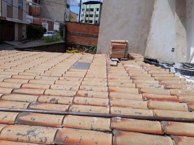 Telhado colonial com estrutura de metalon - Foto 4