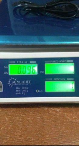 Balança digital eletrônica 40 kg - Foto 6