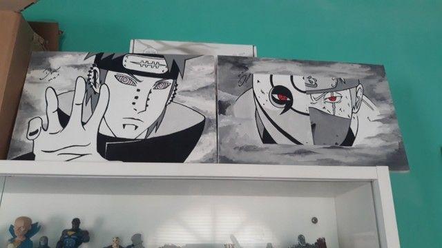 Telas pintadas do Naruto - Foto 3