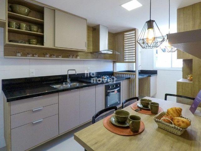 Apto à Venda Mobiliado com 3 Dormitórios e 2 Vagas - Bairro Lourdes - Foto 10
