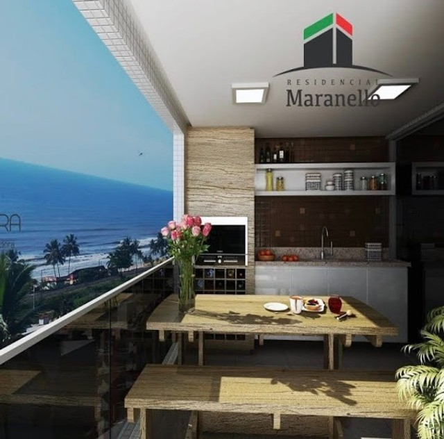 Maranello - Unidade Frente Mar! Andar alto
