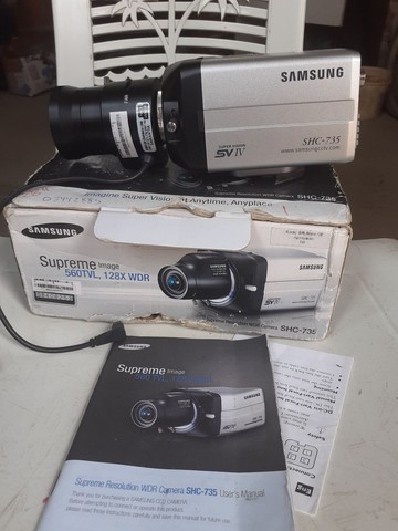 2 câmeras de segurança. Samsung