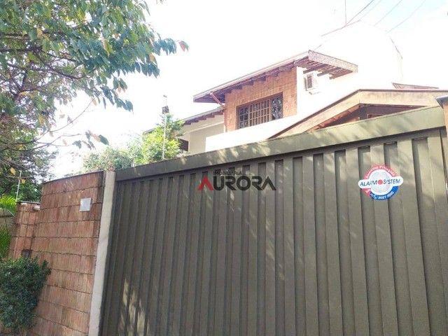 Sobrado com 4 dormitórios para alugar, 370 m² por R$ 5.700,00/mês - Araxá - Londrina/PR