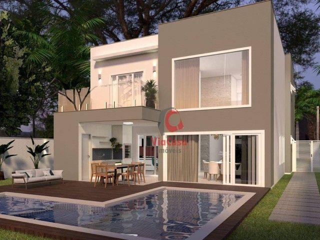 Casa com 4 Quartos Sendo 3 Suítes à venda, 220 m² por R$ 890.000 - Extensão do Bosque - Ri - Foto 4