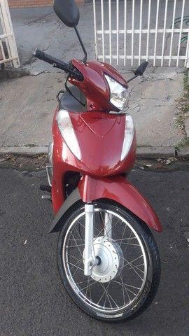 Biz 125cc Ex Total Flex full injection, Vermelha, 2014 com partida elétrica