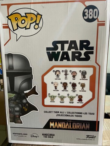 Funko Pop: Star Wars Mandalorian With The Child Super Sized 10? #380 - Foto 4