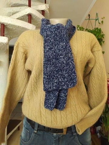 Lote 100 peças de roupas femininas seminovas, lindas - Foto 5
