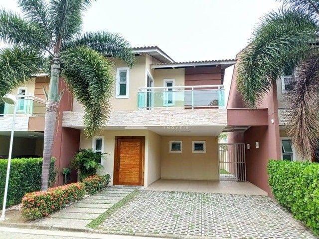 (ESN)TR70940. Casa em Condomínio no Eusébio com 153m², 3 suítes, 2 vagas
