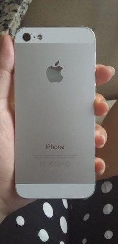 Vendo iPhone 5 16GB usado - R$ 550,00