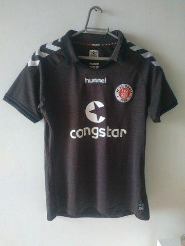 Camisa Saint Pauli Alemanha Hummel Tamanho M Nova