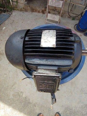 Motor de indução trifásico 3 cv baixa rotação 6 polos 1150 rpm - Foto 3