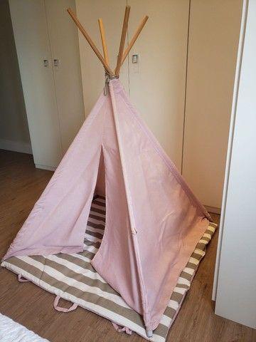 Cabana infantil decorativa rosa - Foto 2