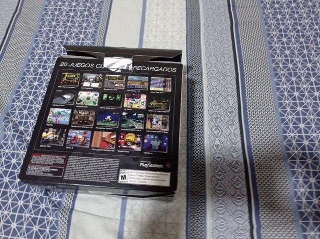Playstation ps1 classic mini com 20 jogos na memória - Foto 3