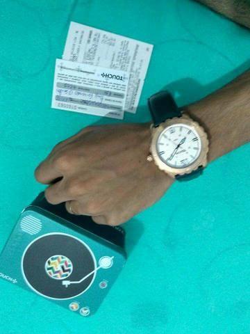 Relógio da touch original valor 100, 00