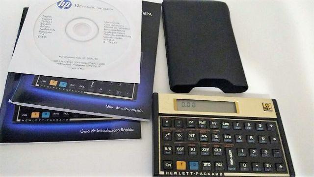 Calculadora HP 12c (usada)