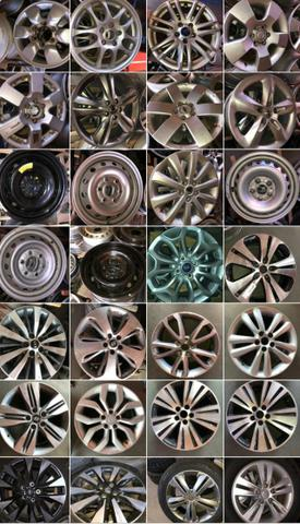 Roda Honda Civic aro 16 2010 - Foto 3