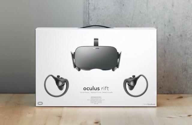3257f4319 Oculos de Realidade Virtual Oculus Xbox One Oculus p/PC Rift VR Bundle