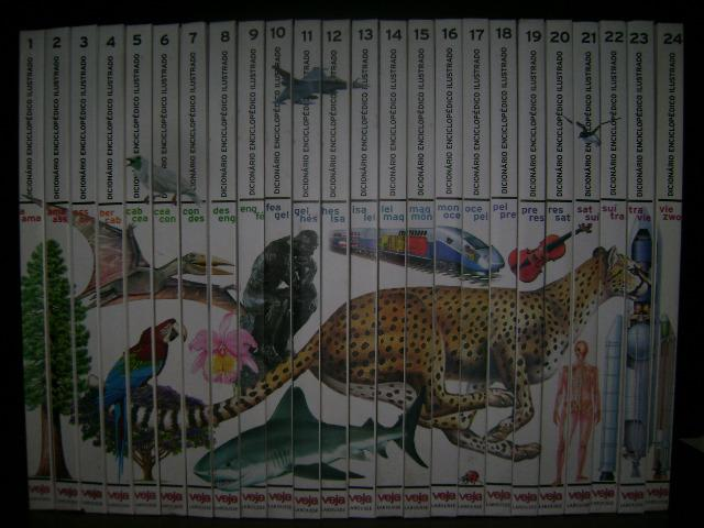 Coleção Veja Dicionário Enciclopédico Ilustrado Larousse - Ano: 2006